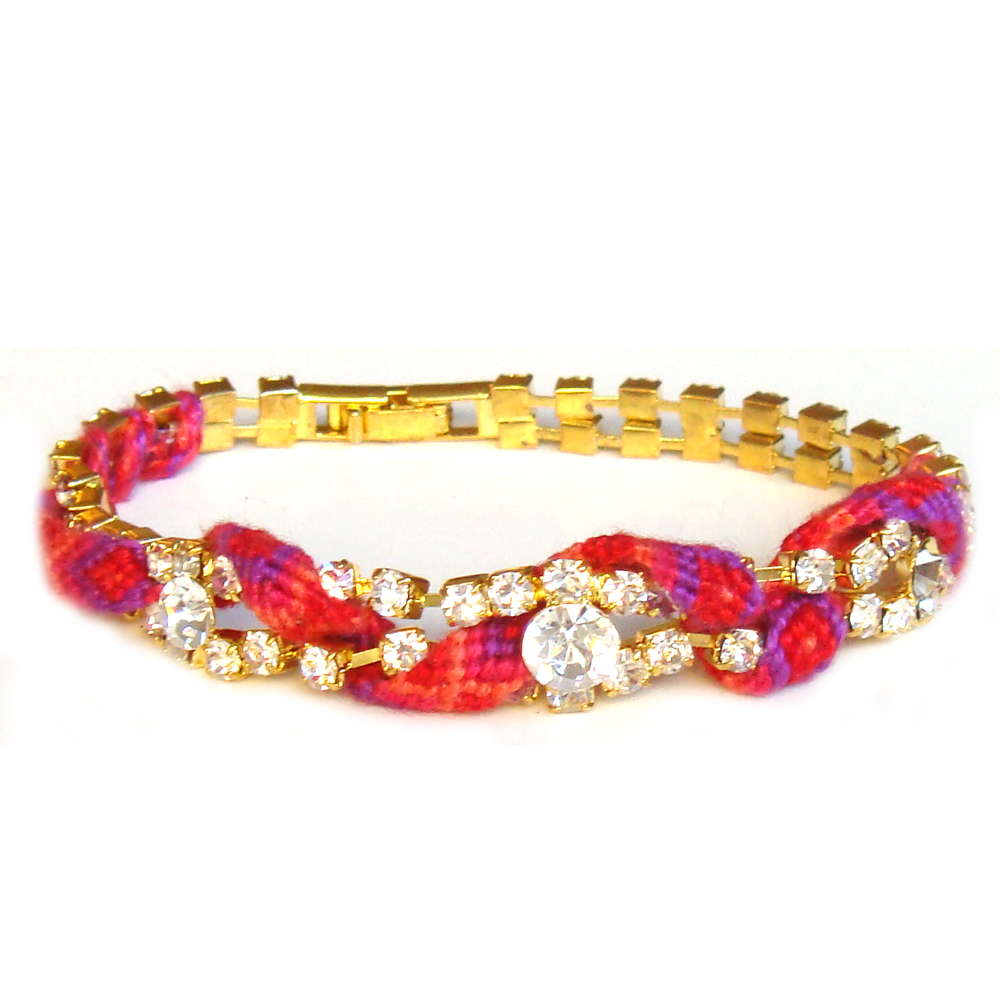 Nellie use a combination of friendship bracelets and vintage jewelry ...